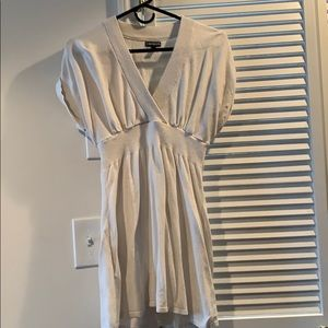 White cotton Express dress